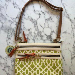 Spartina 449 Purse Over The Shoulder Handbag Green